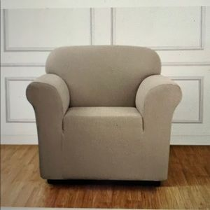SURE FIT STRETCH CHAIR SLIPCOVER